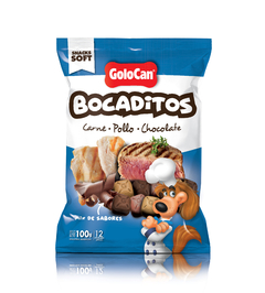 Bocaditos Carne Pollo y Chocolate 100 g