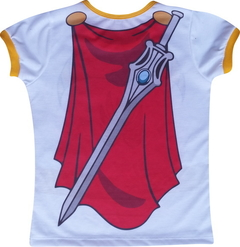 Baby look Adulto  She-ra - comprar online
