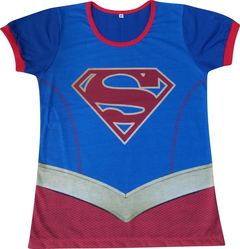 Baby look Adulto Super Girl
