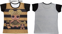 CAMISETA-INFANTIL-LOL-QUEEN-BEE