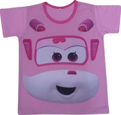 Camiseta Infantil Dizzy (Super Wings)