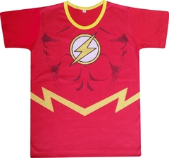 Camiseta Infantil Flash
