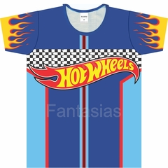 Camiseta Infantil Hot Wheels