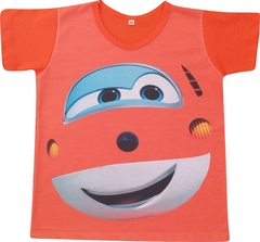 Camiseta Infantil Jet (Super Wings)