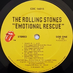 LP The Rolling Stones - Emotional Rescue (Import) - BOLACHÃO DISCOS