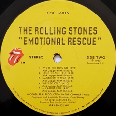 LP The Rolling Stones - Emotional Rescue (Import) - loja online