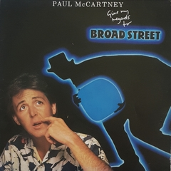 LP Paul McCartney - Give My Regards To Broad Street - comprar online