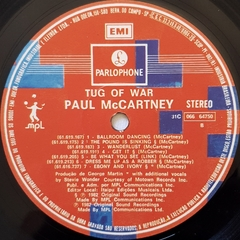 LP Paul McCartney - Tug Of War