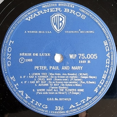 LP Peter, Paul And Mary - 1968 - BOLACHÃO DISCOS