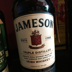 Whiskey Irlandes Jameson Triple Distilled - comprar online