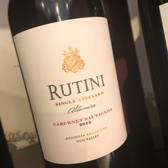 Rutini Single Vineyard Altamira Cabernet Sauvignon 2012 Uco Valley