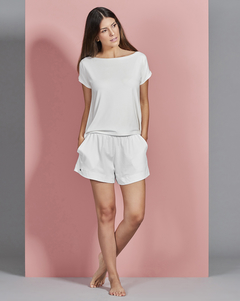 Short Jogging Day By Day Off White - comprar online