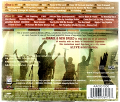 CD Israel & New Breed ALIVE in South Africa **CD DUPLO - comprar online