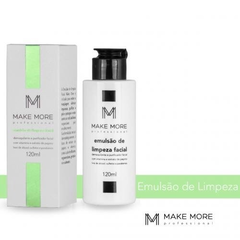 Emulsão de limpeza - Make More - 120ml na internet