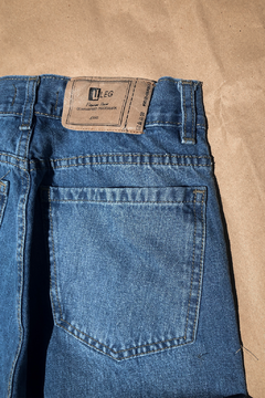 Jean Mom celeste Intermedio - Factown Jeans