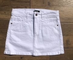 Mini Denim Blanca