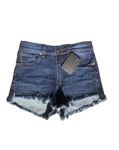 Short Denim Desflecado