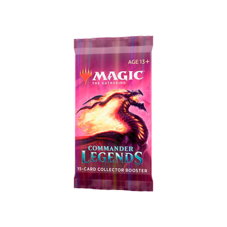 MTG Commander Legends: Collector Booster Avulso (Pré Venda)