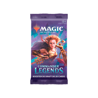 MTG Commander Legends: Booster Avulso