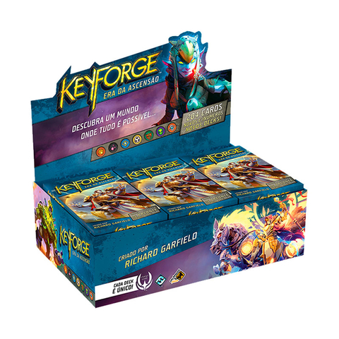 KeyForge: Era da Ascensão - Deck Display