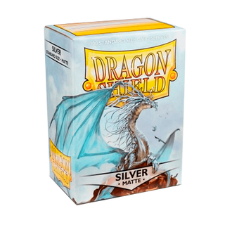 Dragon Shield: Matte -Silver
