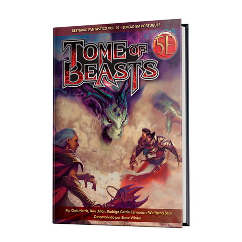 Dungeons & Dragons: Tome of Beasts - Bestiário Fantástico