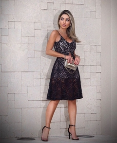 vestido collection party mariana rosa - comprar online