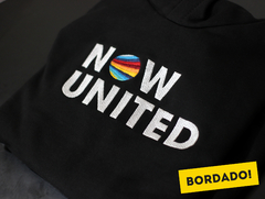 Moletom Canguru Now United Bordado - comprar online