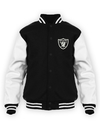 Jaqueta Moletom Raiders Bordado Blusa
