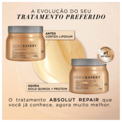 L'Oréal Professionnel Absolut Repair Gold Quinoa Golden Lightweight Máscara 500g - Belas & Delas