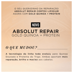 L'Oréal Professionnel Absolut Repair Gold Quinoa Leave-In 10 em 1 190ml - Belas & Delas