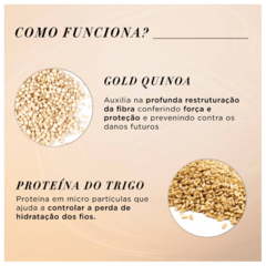 Imagem do L'Oréal Professionnel Absolut Repair Gold Quinoa Golden Lightweight Máscara 500g