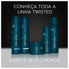 Sebastian Professional Twisted Shampoo 250ml - Belas & Delas