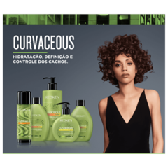 Redken Curvaceous Condicionador Leave-In 1000ml - Belas & Delas