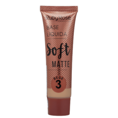 Ruby Rose Soft Matte Base Líquida 3 Bege 29ml