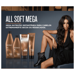 Redken All Soft Mega Shampoo 300ml na internet