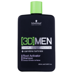 Schwarzkopf [3D] MEN Hair Scalp Root Activator 250ml
