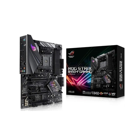 MOTHER ASUS ROG STRIX B450-F GAMING AM4