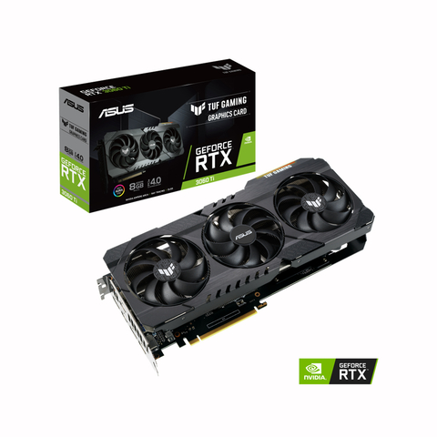 PLACA DE VIDEO ASUS TUF RTX 3060TI 8G GAMING