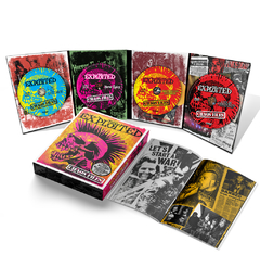 "PACK 2   -THE EXPLOITED ""The Chaos Files"" Boxset  (3CD+DVD+LIBRO)   + REMERA +POSTER en internet"