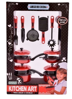 Set de Cocina Kitchen Art Ditoys