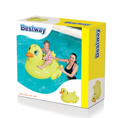 Colchoneta Inflable Patito 1.35 mts x 0.91 mts Bestway 41102 - comprar online