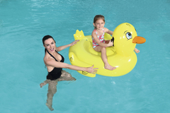 Colchoneta Inflable Patito 1.35 mts x 0.91 mts Bestway 41102