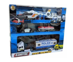 Set de Vehiculos De Reaccion Teamsterz Rescate - comprar online