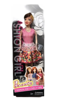 Muñeca Articulada Fashion Girl Beauty - comprar online