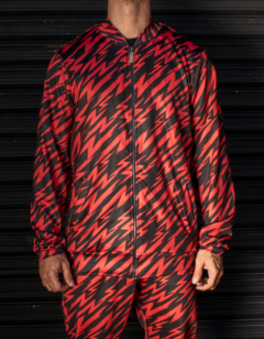 Campera Barroque Flash ROJO