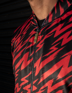Campera Barroque Flash ROJO - Billionz