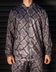 Campera Barroque Skin GRIS