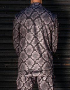 Campera Barroque Skin GRIS en internet