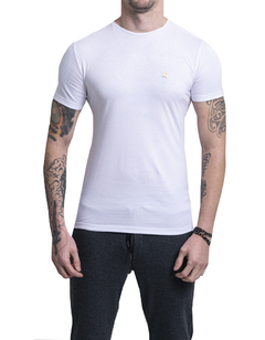 REMERA FITTED BLANCO - comprar online